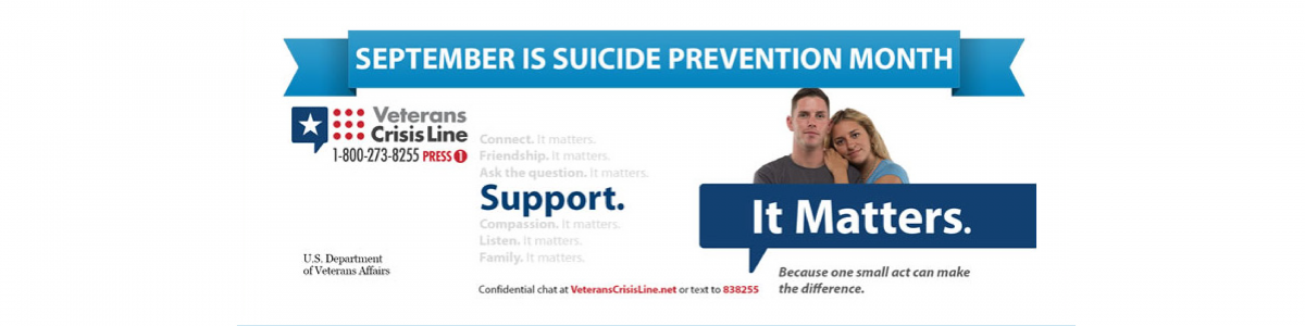 Veterans crisis banner