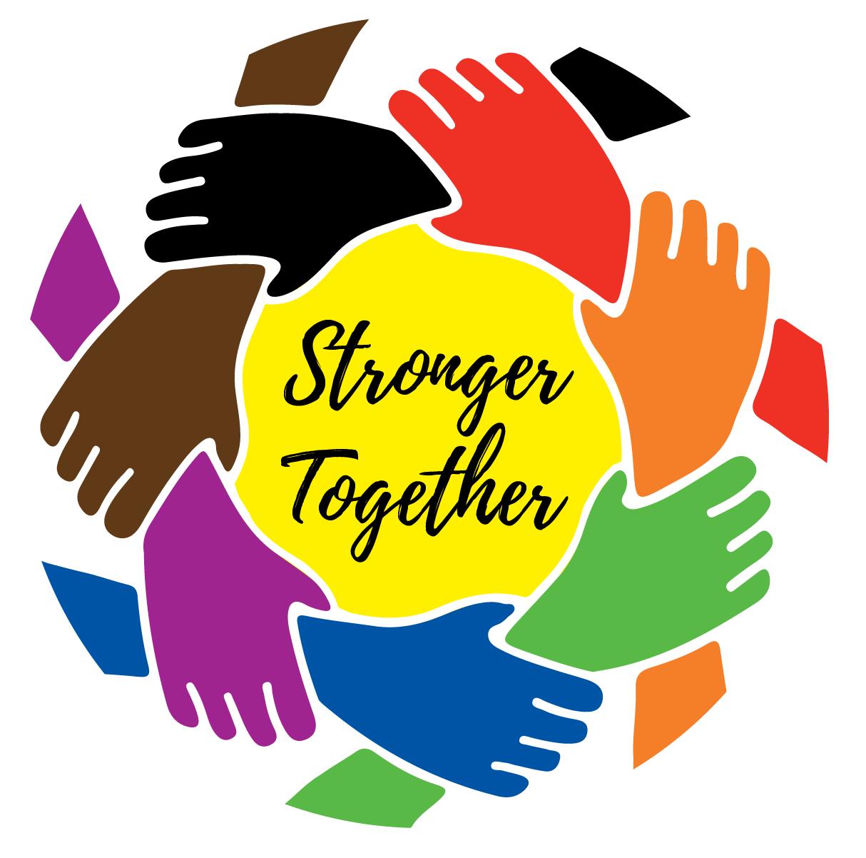 Stronger Together logo solid colors